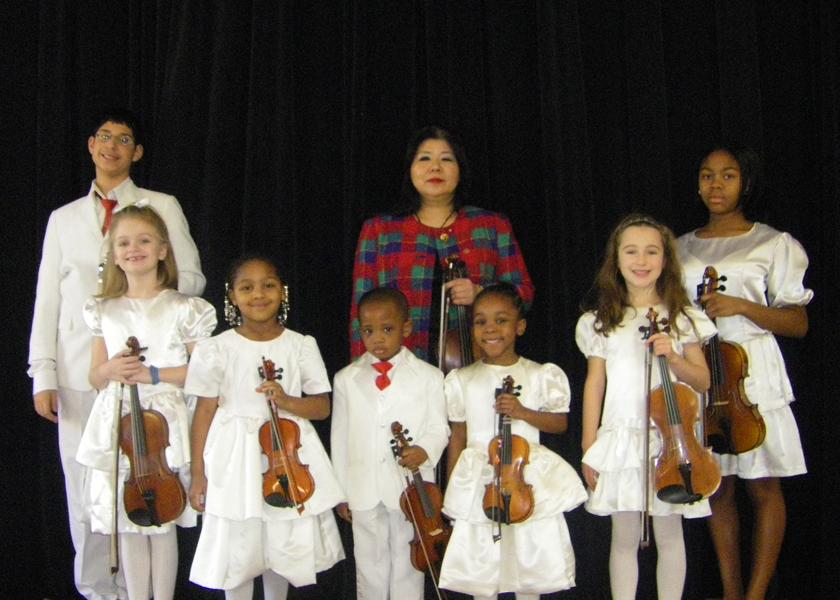 About | The Tarumi Violinists | founded by Yukako Tarumi